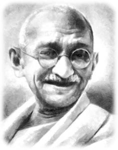 Ghandi-AngelReadingsByZARA